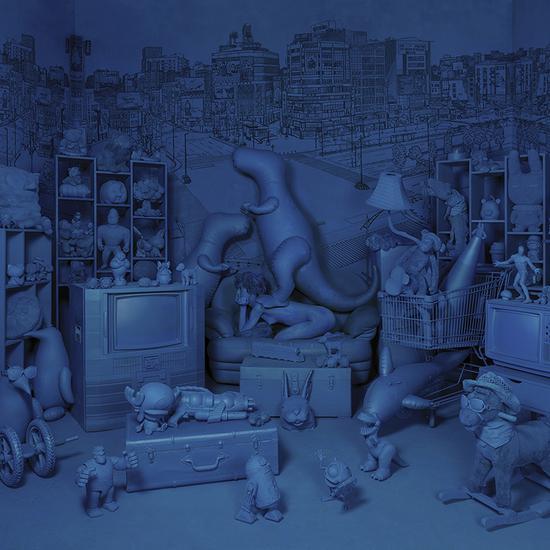 王建扬,漫游潜意识,收藏级无酸艺术纸、艺术微喷,75x75cm,2016,Edition of 2