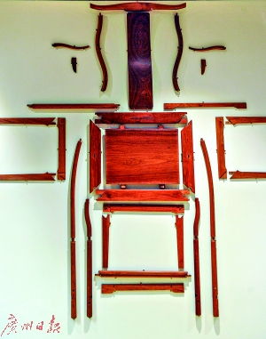 """榫卯是红木家具的""""灵魂""""。"""