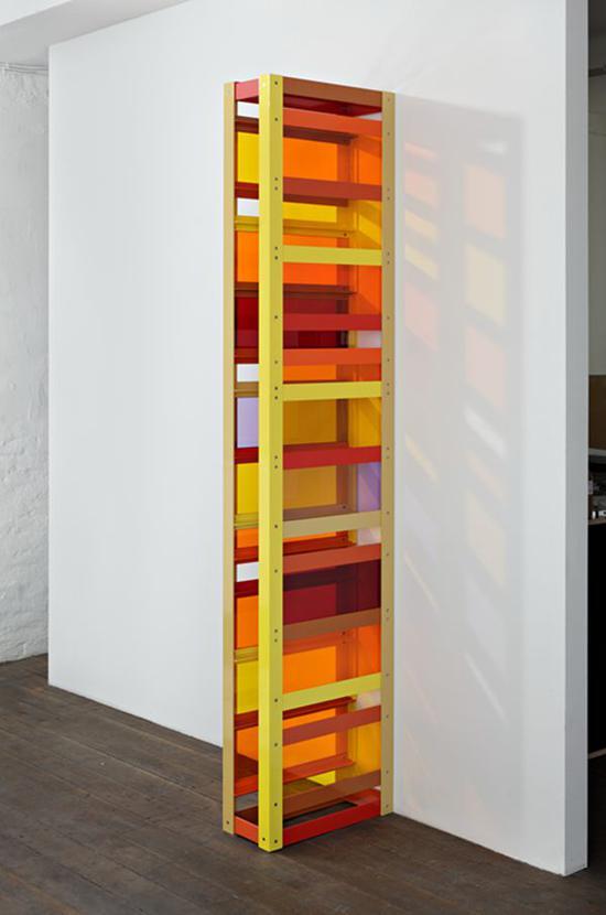 里亚姆?杰力珂 磋商的崩溃 2010 铝粉涂层,有机玻璃,独版,镶墙屏风结构 230 x 50 x 20 cm