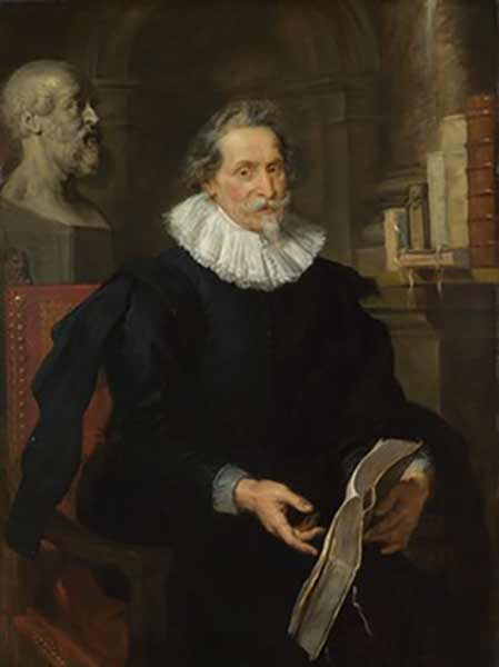 Peter Paul Rubens, Portrait of Ludovicus Nonnius (around 1627)