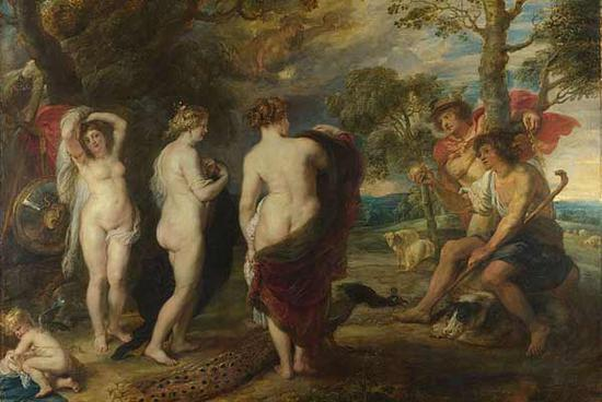 London's National Gallery gets first new display space in 26 years Peter Paul Rubens, The Judgment of Paris (around 1632-35)