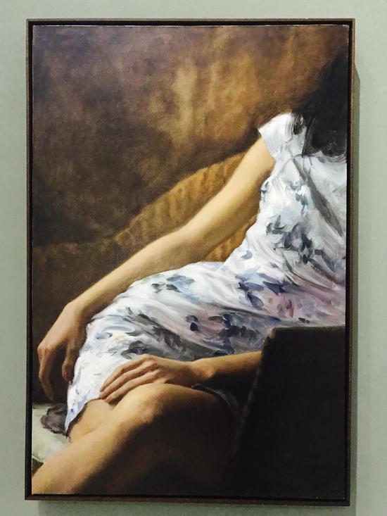 《黄昏》 90×60cm 布面油画 2016