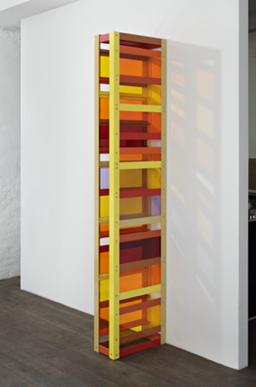里亚姆·杰力珂 磋商的崩溃 230cm x 50cm x 20 cm 铝粉涂层,有机玻璃,独版,镶墙屏风结构