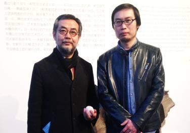 曹淑海与导师隋建国先生