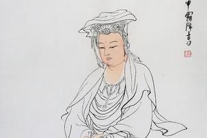 新浪收藏2017未来艺术大师系列之崔自默《观音》