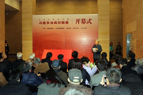 江苏名家晋京展——冯健亲油画回顾展在京举行