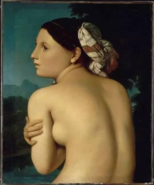 《浴女半身像》