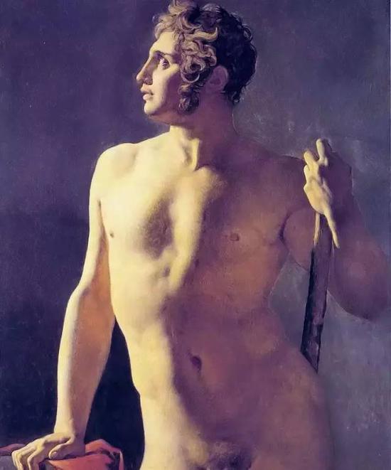 《梅尔·托索》,布面油画,62.86x50.64cm,1800