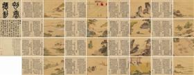 北京保利2016秋拍中国古代书画夜场拍出的仇英《唐人诗意图册》,成交价9430万元