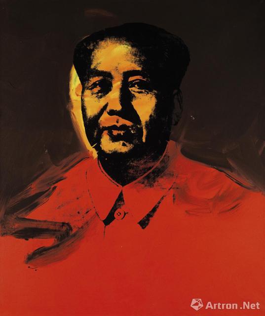 安迪·沃霍尔《毛主席》,成交价:9853.75万港元