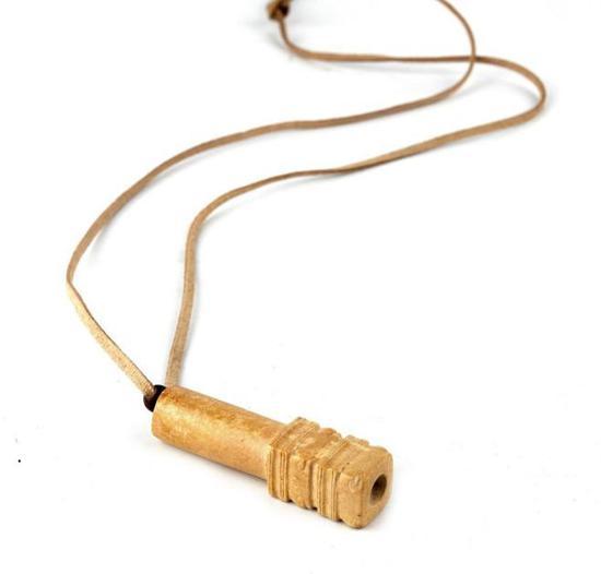 良渚玉管饰