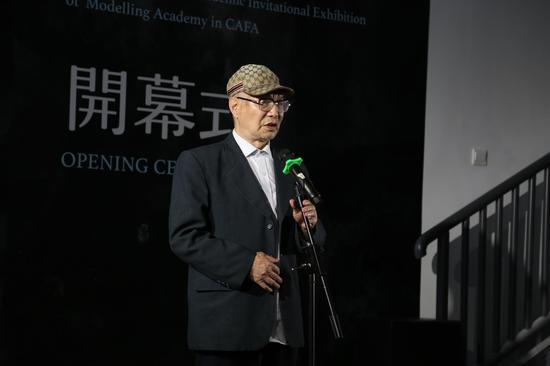景德镇陶瓷大学教授周国桢先生发言