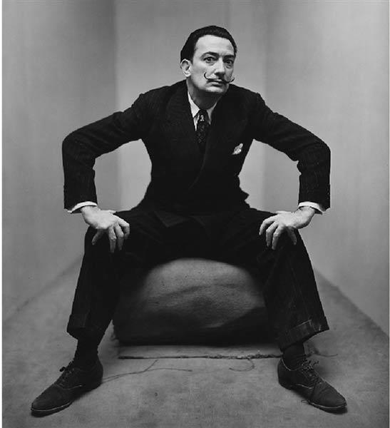 欧文?佩恩 萨瓦多?达利肖像 纽约1947年 史密森美国艺术博物馆收藏
