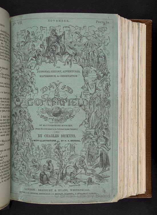 狄更斯——《大卫·科波菲尔》(大英图书馆供图)