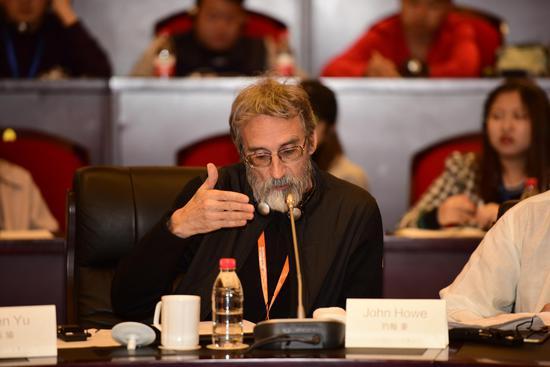 《魔戒》三部曲概念艺术家 乌镇国际未来视觉概念设计大赛评审委员会 约翰·豪(John Howe)