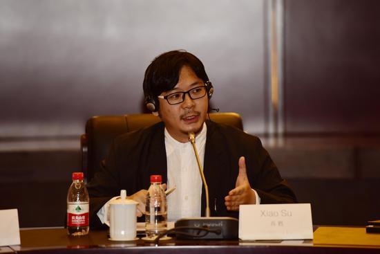 421工作室总裁 乌镇国际未来视觉艺术计划总策划 肖甦