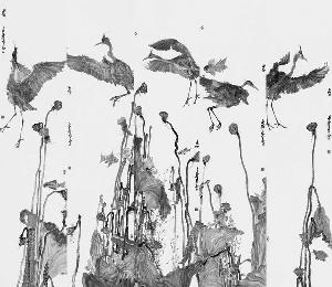 周京新 《苍鹭》系列作品