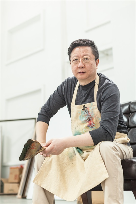 艺术家 王衍成,摄影:见涛