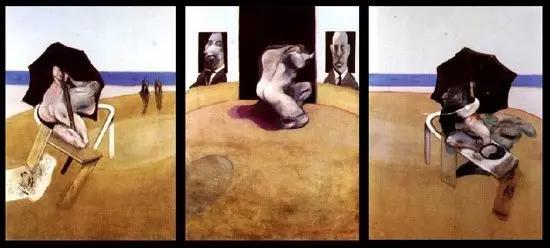 纪念乔治·戴尔《三联画》1974-1977