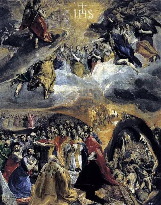 《圣名之赞仰》,格列柯