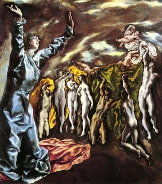 《传道者圣约翰的幻视》,格列柯