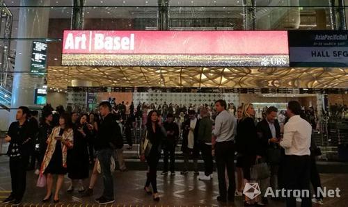 2017年香港巴塞尔艺术展 展览现场