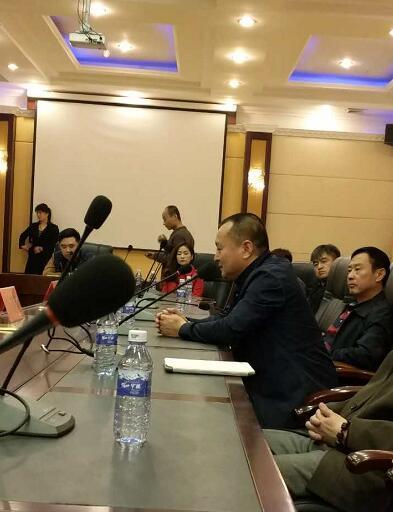 辽宁析木玉文化有限公司(千璞汇)董事长齐晓波发言
