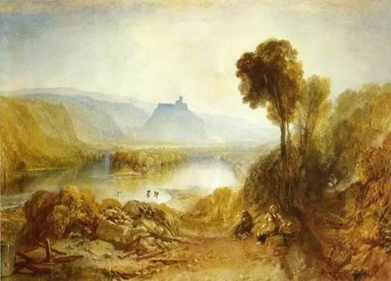 英格兰和威尔士的旖旎风光  1825年