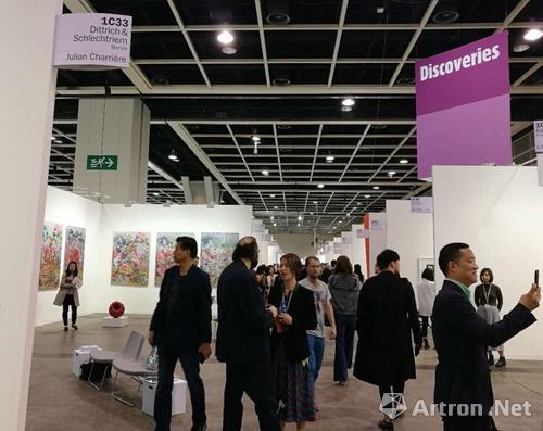 2017年香港巴塞尔艺术展现场