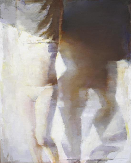 《冬阳I》 布面油画 100x80cm 赵辉 2012