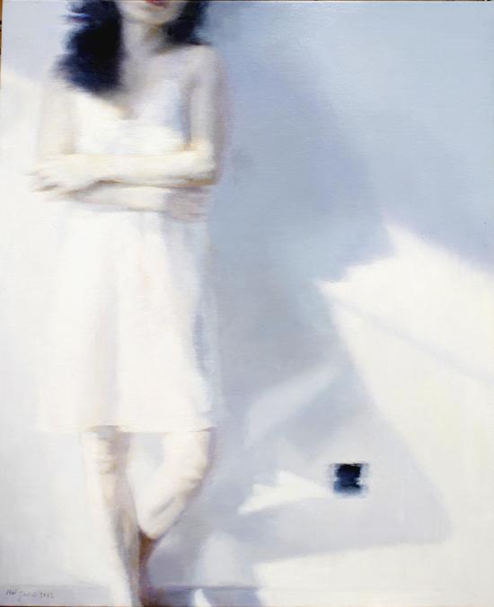《冬阳III》布面油画 100x80cm 赵辉 2012