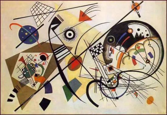Kandinsky, Unbroken Line , 1923