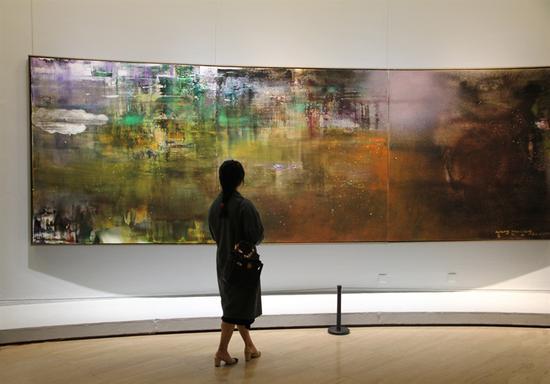 """""""衍""""集中呈现了艺术家王衍成近年来在抽象创作者中的转变"""
