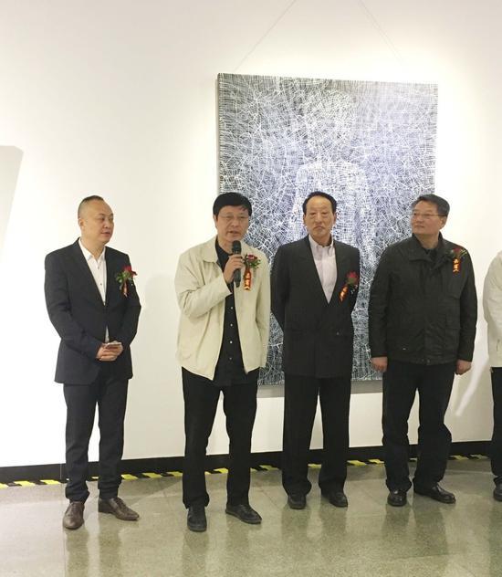 """""""青年艺术+""""项目组委会主席朱英杰先生致辞"""