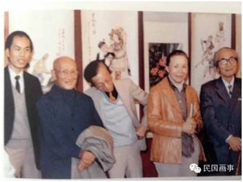 莫一点、林风眠、香港记者林檎、方召麟、关良