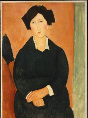 莫迪利亚尼人物肖像作品