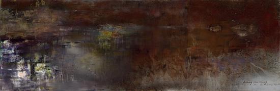 王衍成 无题 布面油画 190x570cm 2016b