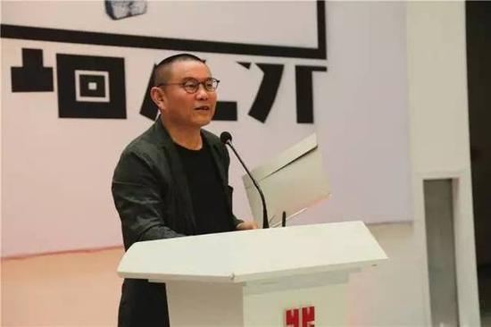 湖北美术馆艺术总监傅中望宣布展览开幕