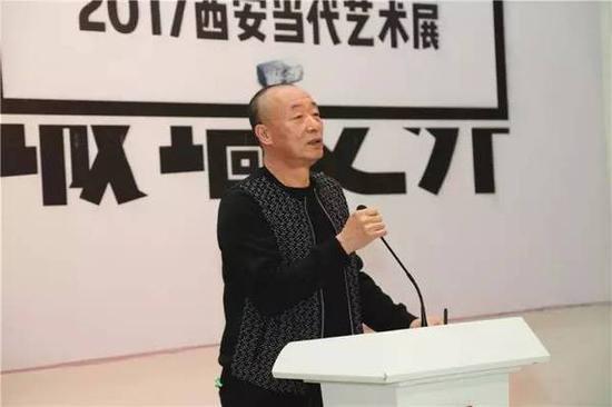学术委员代表、黄河杂志编辑、美术批评家刘淳致辞
