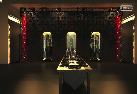 设计防卫队 Dutch Lab 2017设计北京现场效果图