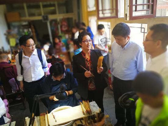 到未来邮局体验中国传统工艺