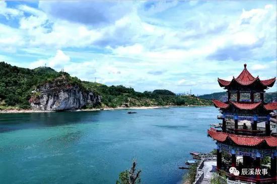 美丽的辰溪县城