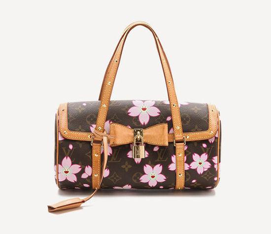 村上隆为LV设计的樱花系列包袋