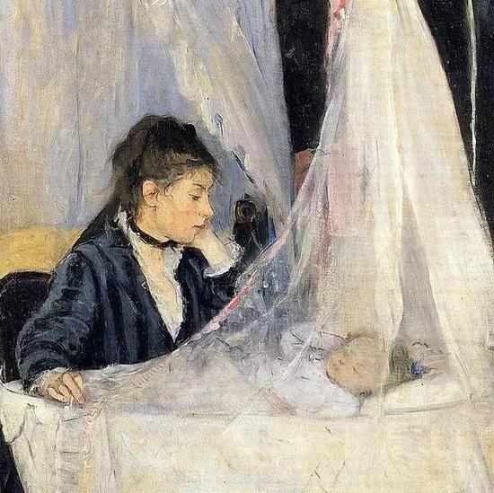 贝尔特?莫里索 Berthe Morisot - 摇篮