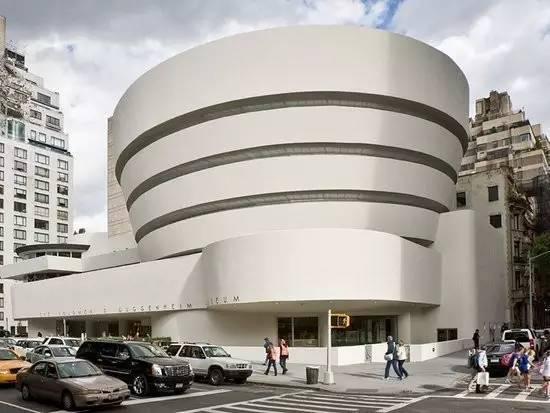 由弗兰克·劳埃德·赖特设计的纽约古根海姆美术馆,图片来源:Solomon R. Guggenheim Museum