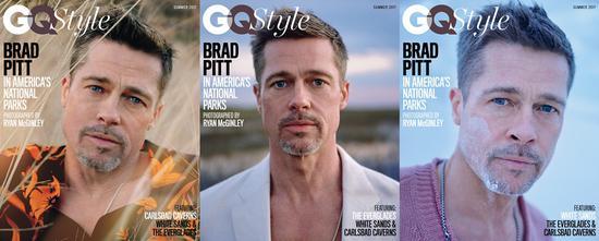 布拉德?皮特,Ryan McGinley为GQ Style拍摄的照片,2017。