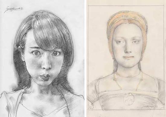 铅笔手绘漫画人物阴影