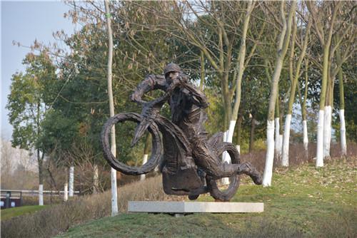 《摩托车手》(特别荣誉奖)——理查德?布瑞克赛尔(Richard Brixel)