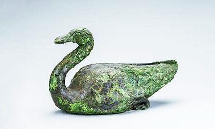 始皇陵青铜雁。