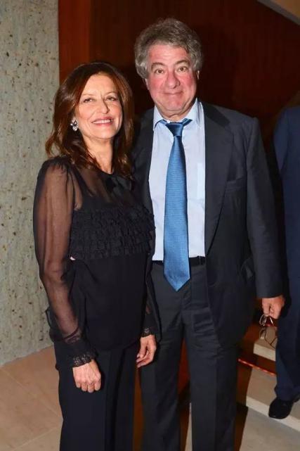 莱昂·布莱克和妻子黛布拉